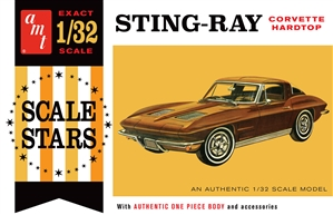"1963 Chevy Stingray Corvette (1/32) (fs)<br><span style=""color: rgb(255, 0, 0);"">Early September</span>"