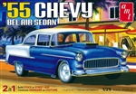 "1955 Chevy Bel Air Sedan (2 'n 1) (1/25) (fs) <br><span style=""color: rgb(255, 0, 0);"">Back in Stock</span>"