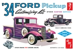 "1934 Ford Pick-up (3 'n 1) Customizing Kit (1/25) (fs) <br><span style=""color: rgb(255, 0, 0);"">Back in Stock</span>"