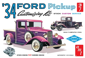 "1934 Ford Pickup (3 'n 1) Customizing Kit (1/25) (fs) <br><span style=""color: rgb(255, 0, 0);"">Back in Stock</span>"