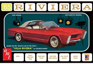 "1965 George Barris Buick Riviera ""Villa Riviera"" (3 'n 1) Stock, Custom, Advanced Custom (1/25)"