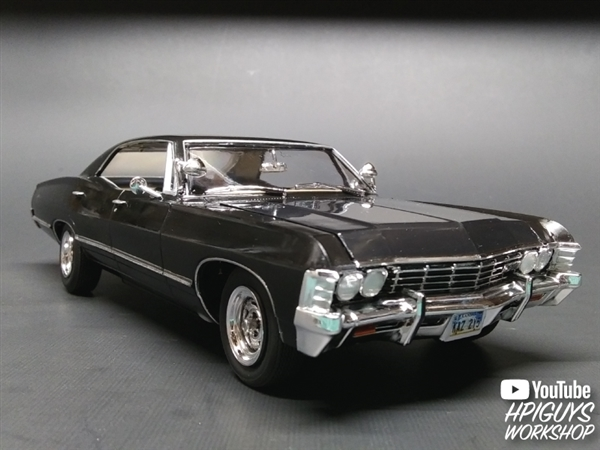 1967 Chevy Impala 4 Door Supernatural Nighthunter 1 25 Fs Br Span Style Color Rgb 255 0 0 Back In Stock Span