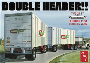 "Double Header Trailmobile Tandem Trailers (1/25) (fs)  <br><span style=""color: rgb(255, 0, 0);"">Just Arrived</span>"