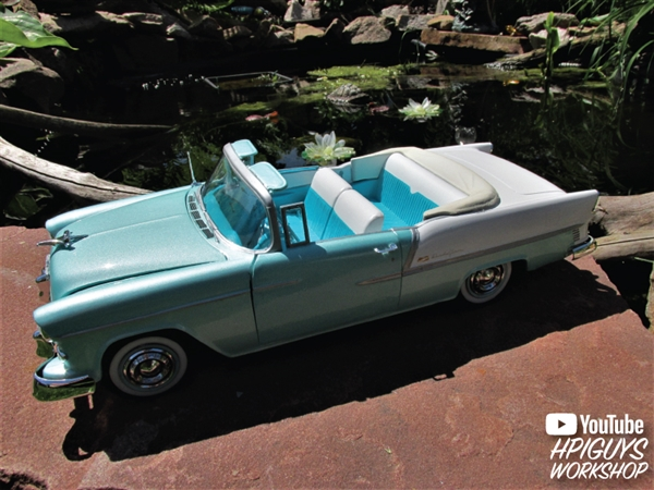1955 Chevy Bel Air Convertible (1/16) (fs) Just Arrived