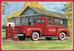 "1953 Ford F-100 ""Coca-Cola"" Pickup with Diecast Coke Machine and Dolly(1/25) (fs) <br><span style=""color: rgb(255, 0, 0);"">Just Arrived</span>"