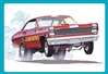 Dyno Don Nicholson's 1967 Mercury Cyclone Eliminator II A/FX Funny Car (1/25) (fs)