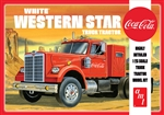"""Coca-Cola"" White Western Star Semi Tractor (1/25) (fs)<br><span style=""color: rgb(255, 0, 0);"">Just Arrived</span>"