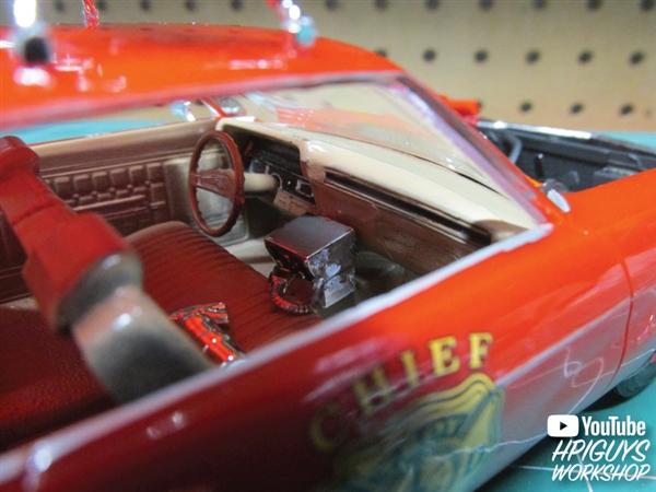amt Chevrolet /'70 Impala Fire Chief 1:25