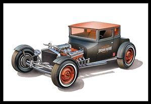 "1925 Ford T ""Chopped"" (1/25) (fs) <br><span style=""color: rgb(255, 0, 0);"">December 12, 2019</span>"