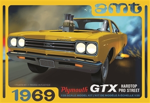 "1969 Plymouth GTX Hardtop Pro Street (1/25) (fs)  <br><span style=""color: rgb(255, 0, 0);"">Just Arrived</span>"
