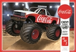 "1988 Chevy Silverado ""Coca-Cola"" Monster Truck (1/25) (fs)  Damaged Box"