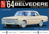 "1964 Plymouth Belvedere with Slant 6 Engine (1/25) (fs) <br><span style=""color: rgb(255, 0, 0);"">Late September, 2020</span>"