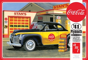 "1941 Plymouth Coupe ""Coca-Cola"" (1/25) (fs)<br><span style=""color: rgb(255, 0, 0);"">Just Arrived</span>"