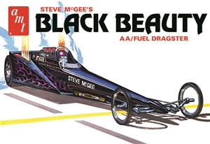"Steve McGee's Black Beauty AA/Fuel Dragster (1/25) (fs)  <br><span style=""color: rgb(255, 0, 0);""> Just Arrived</span>"