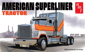 "American Superliner Semi Tractor (1/24) (fs)<br><span style=""color: rgb(255, 0, 0);"">March, 2021</span>"