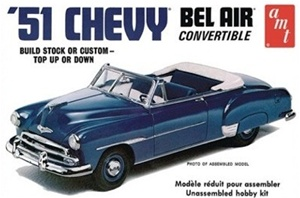 1951 Chevy Bel Air Convertible (fs) 1/25