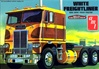 White Freightliner Dual Drive Cabover  (1/25) (fs)