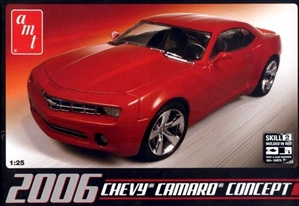 2006 Chevy Camaro Concept Car (1/25) (fs)
