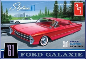 1961 Ford Notchback Hardtop Styline kit (1/25) (fs)