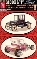 1925 Ford Ford Tall T (3 'n 1) Stock, Street, Strip (Build 2) (1/25) (fs)
