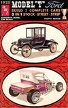 1925 Ford Ford Tall T (3 'n 1) Stock, Street, Strip (Build 2) (1/25) (fs) Damaged Box