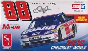 2010 Dale Earnhardt, Jr  Nascar Impala COT with Updated Spoiler or Wing - Snap (1/25) (fs)