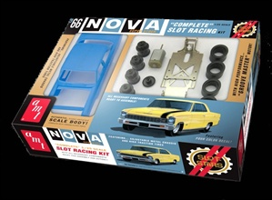 1966 Chevy Nova Slot Car (1/25) (fs)