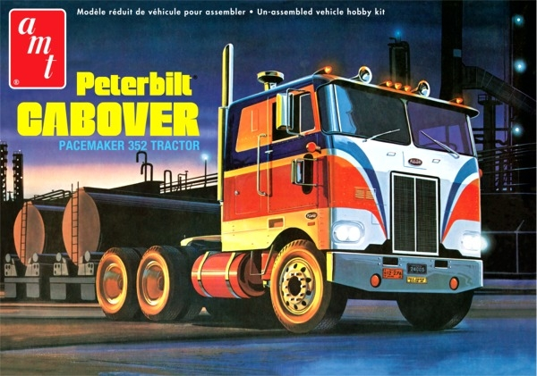 Peterbilt 352 Pacemaker COE  Double Cab version aka Goliath NEW 1:25 Resin