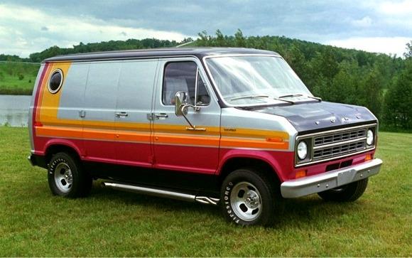 1976 Ford Econoline Custom Phantom Van 2 N 1 Stock Or
