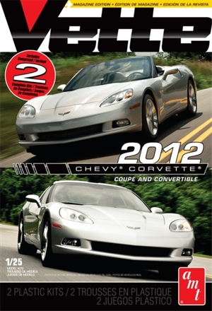 2012 Corvette Coupe/Convertible Combo (2 Compete Kits)  (1/25) (fs)