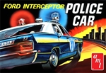 1970 Ford Galaxie 4-door Police Car Interceptor (2 'n 1) Stock or Police (1/25) (fs)