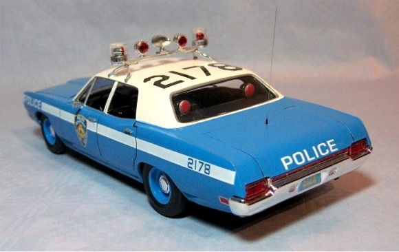 Ford Galaxie Police Car