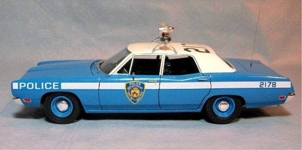 1970 Ford Galaxie 4-door Police Car Interceptor (2 u0027n 1) Stock or Police (1/25) (fs) & 1970 Ford Galaxie 4-door Police Car Interceptor (2 u0027n 1) Stock or ... markmcfarlin.com