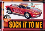 "1962 ""Sock It To Me"" Corvette (4 'n 1) Stock, Custom, Drag, Bonneville Racer (1/25) (fs)"