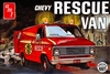 1975 Chevy Rescue Van (2 'n 1) Stock Panel Van or Ambulance  (1/25) (fs)