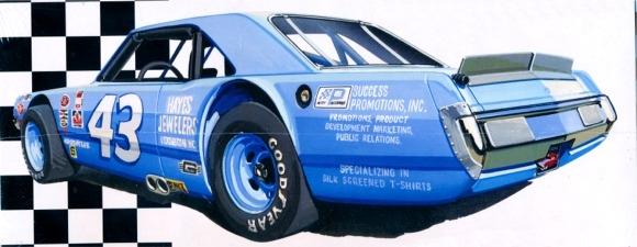 "Aftermarket Performance Car Parts >> ""Petty Dart"" Richard Petty Dodge Dart Sportsman (1/25) (fs)"
