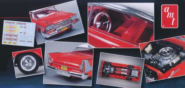 1958 Quot Christine Quot Plymouth Belvedere 1 25 Fs