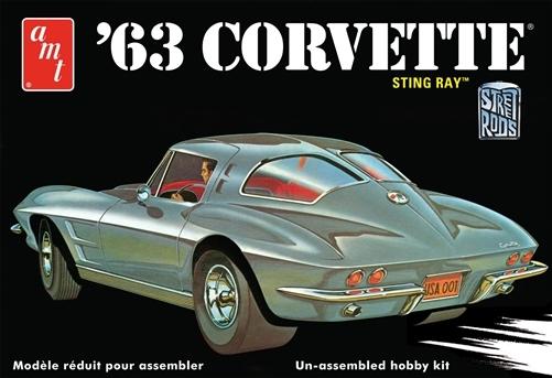 AMT 1963 Corvette Stingray Model Kit