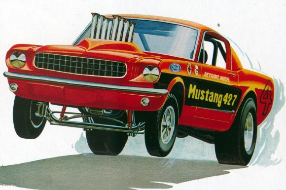 Additional Photos & 1965 Ford Mustang Funny Car Model Kit markmcfarlin.com