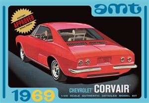 1969 Corvair (3 'n 1) Stock, Custom, Competition (1/25) (fs)