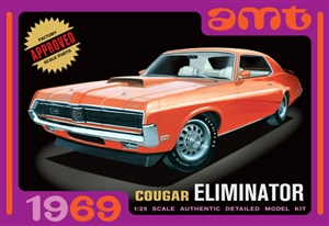 1969 Mercury Cougar Eliminator (1/25) (fs)