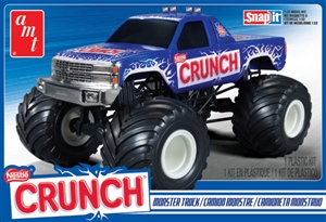 Nestle Crunch Chevy Monster Truck (Snap Kit) (1/32) (fs)