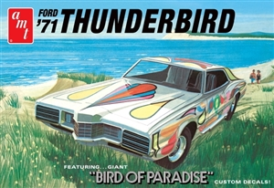 1971 Ford Thunderbird (1/25) (fs) Damaged Box