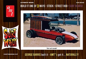 "George Barris ""Surf Woody"" Molded in White (1/25) (fs)"