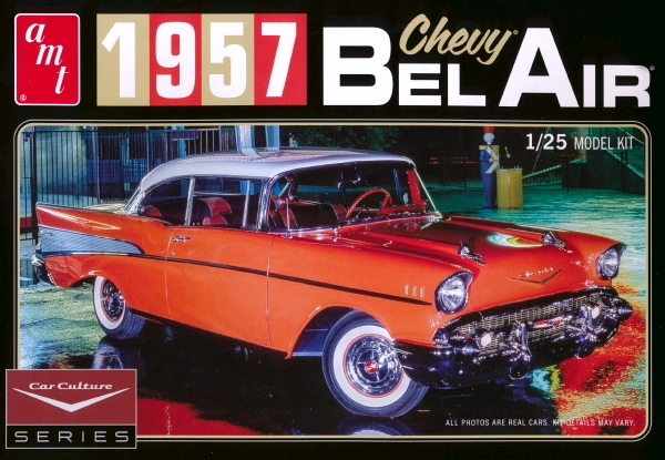 1957 Chevy Bel Air with Wiring and Photo-Etch \