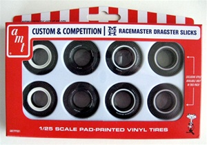 Custom and Competition Racemaster Dragster Slicks (1/25) (fs)