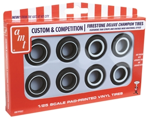 Firestone Deluxe Champion Whitewall Tire Pack (1/25) (fs)