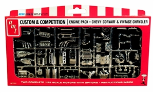 Chrysler and Chevy Corvair Motors Parts Pack (1/25) (fs)