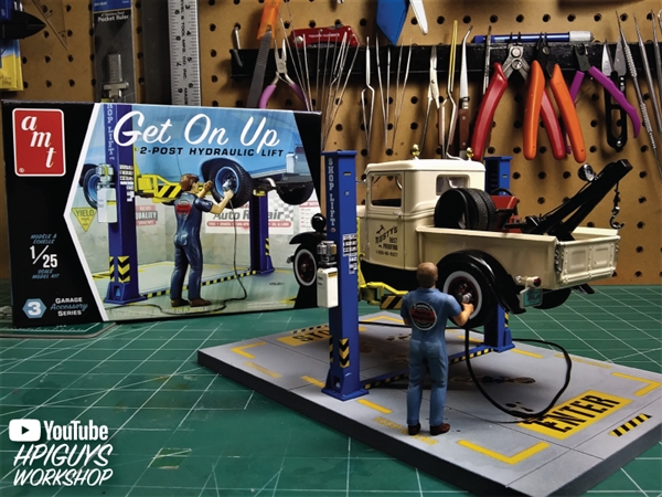 Get On Up Garage Accessory Set #3 (1/25) (fs) Just Arrived