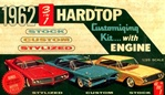 1962 Buick Electra Hardtop (3 'n 1) Stock, Custom or Stylized (1/25)